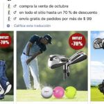 facebook only4golf.com tienda online falsa