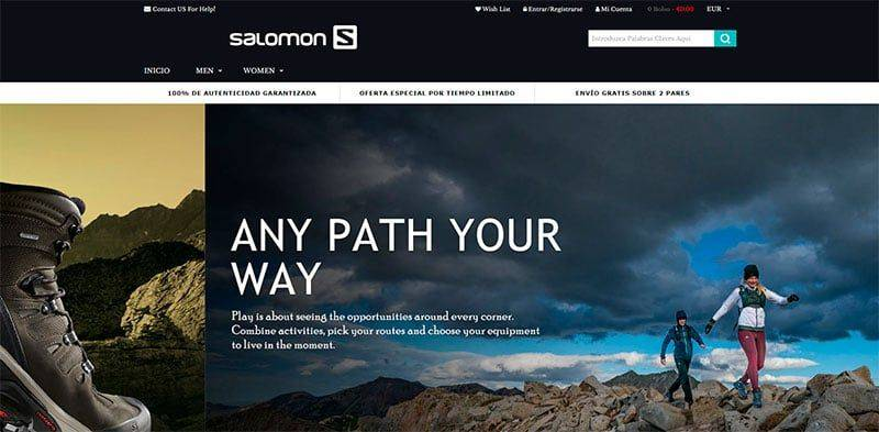 online store ff203 65b04 ucdamqn.com fake online shop Salomon - Fakes, Scams and ...