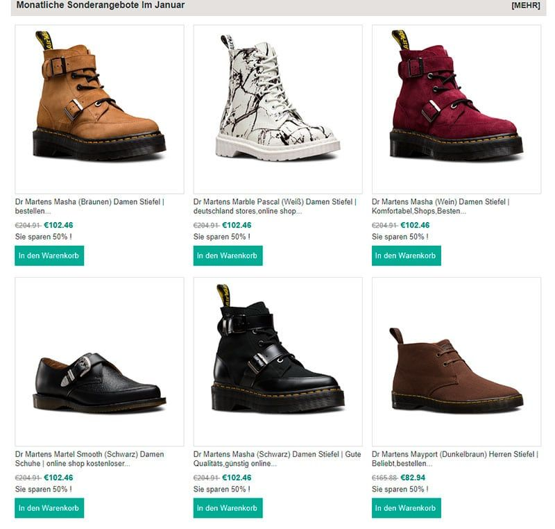 f66158cf2043 m-marquardt.de fake online shop Dr Martens - Fakes, Scams and frauds ...