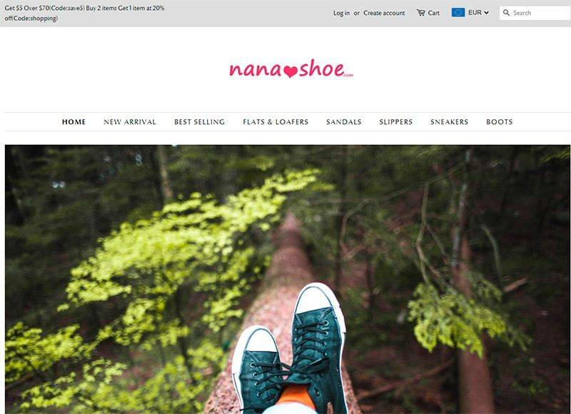 nanashoe com fake online shop shoes - Fakes, Scams and frauds of
